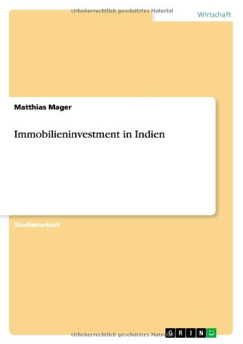 Immobilieninvestment in Indien