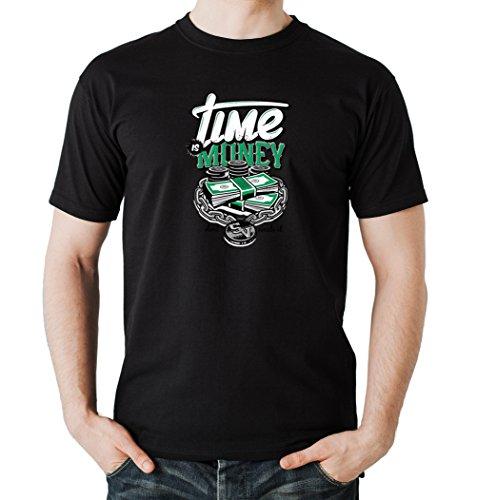 Certified Freak Time is Money T-Shirt Black S