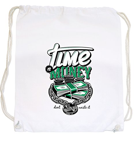 Time Is Money Gymsack White Certified Freak