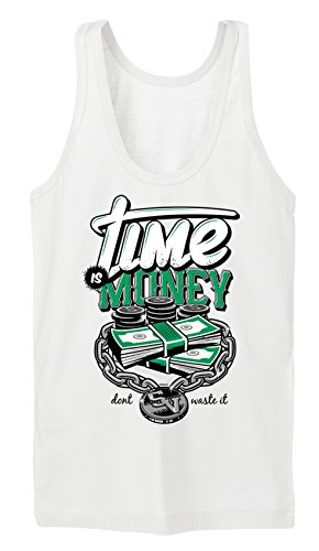 Certified Freak Time is Money Tanktop Girls White XL