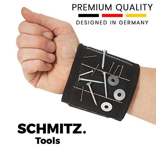 Magnetarmband für Handwerker - Handwerker Geschenke: Magnetisches Armband für Schrauben und Nägel. Beste Baumarkt Geschenk zum Geburtstag - Vatertagsgeschenk - Vatertag - Geschenk für Männer