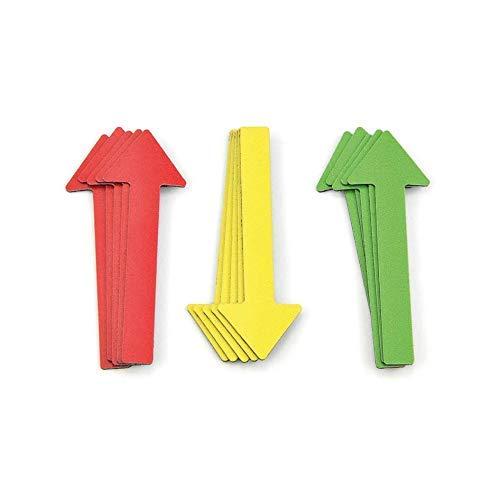 Magnetpfeile für Sachverständig 30 Stück / 6 cm, KFZ Gutachter, Präsentationen, Projektarbeiten, Gutachten