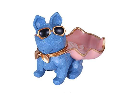Mubaoyu Dekoration Deko Kreatives Geschenkgeometrische Origami-Sammelscheibe Zum Geldverdienen Brille Hundeharz Basteln 30 X 20 X 26Cm