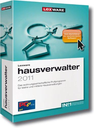 Lexware Hausverwalter Vollversion 2011: Das Profiprogramm für private Vermieter und kleine Hausverwaltungen